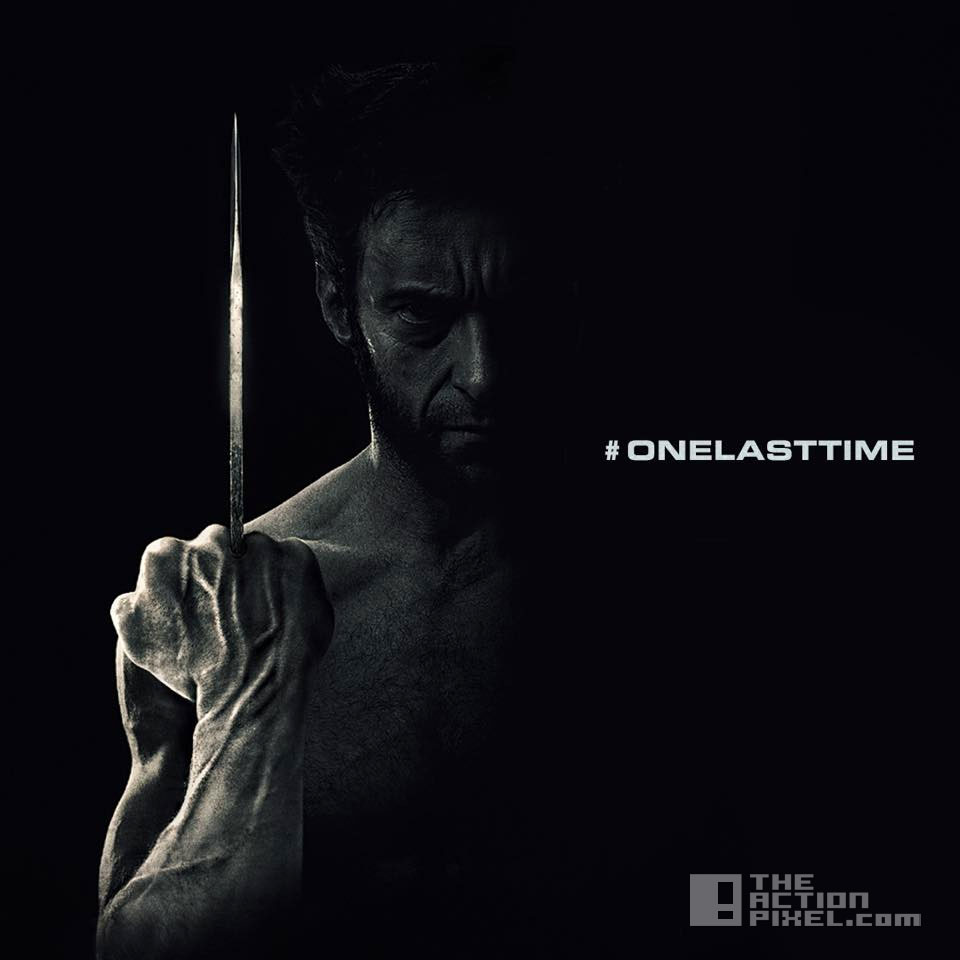 one last time. wolverine. 20th century fox, marvel, the action pixel. @theactionpixel