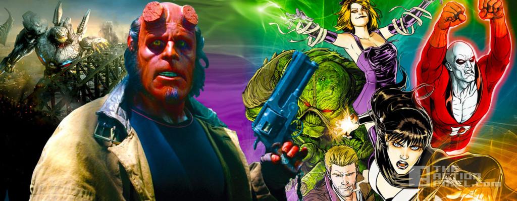 pacific rim 2 hellboy 3 + Justice League Dark. Guillermo Del Toro. the action pixel;. @theactionpixel