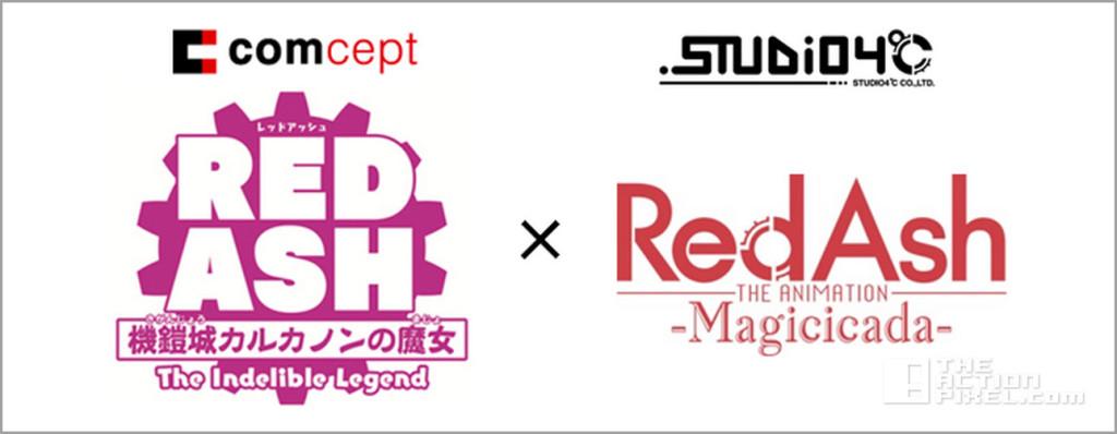 red ash the indelible legend. comcept studio 4ºc. the action pixel. @theactionpixel