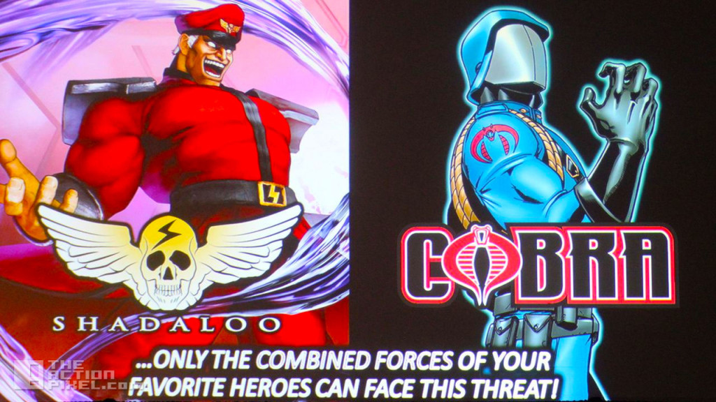 m. bison cobra. Street Fighter X GI Joe. the action pixel. @theactionpixel. hasbro. capcom