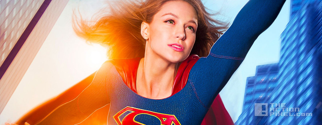 poster. melissa benoist. supergirl. dc comics. cbs. the action pixel. @theactionpixel