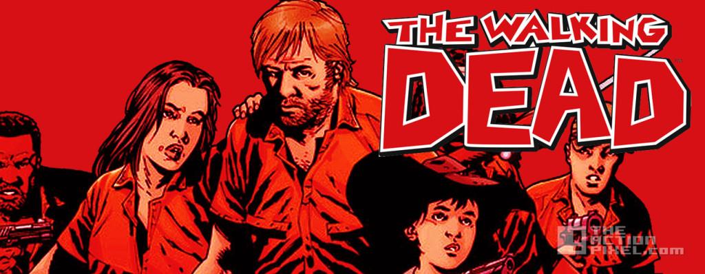 the walking dead. image comics. the action pixel. @theactionpixel