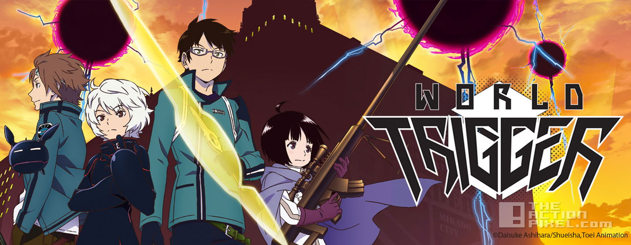 English Dubbed World Trigger Episodes 1 3 Screened At Anime Expo 2015