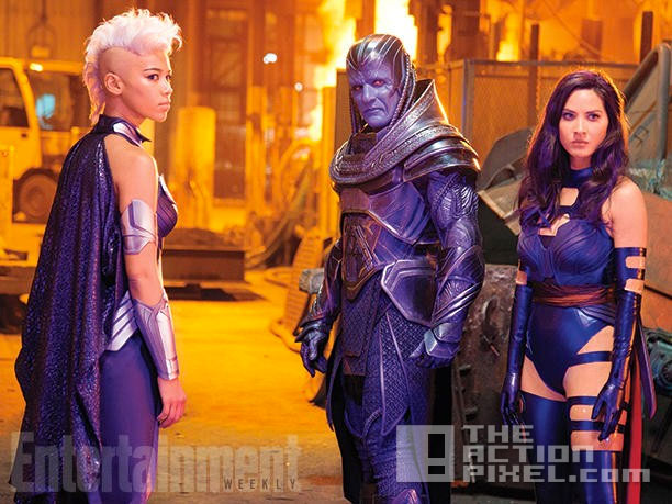 x-men apocalypse. 20th century fox. marvel. the action pixel. @theactionpixel