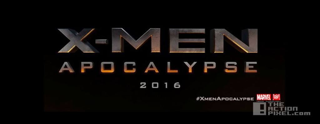 xmen apocalypse title. 20th century fox. marvel. the action pixe. @theactionpixel