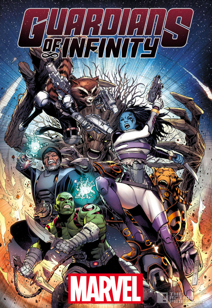 GUARDIANS OF INFINITY #1. the action pixel. @theactionpixel. marvel