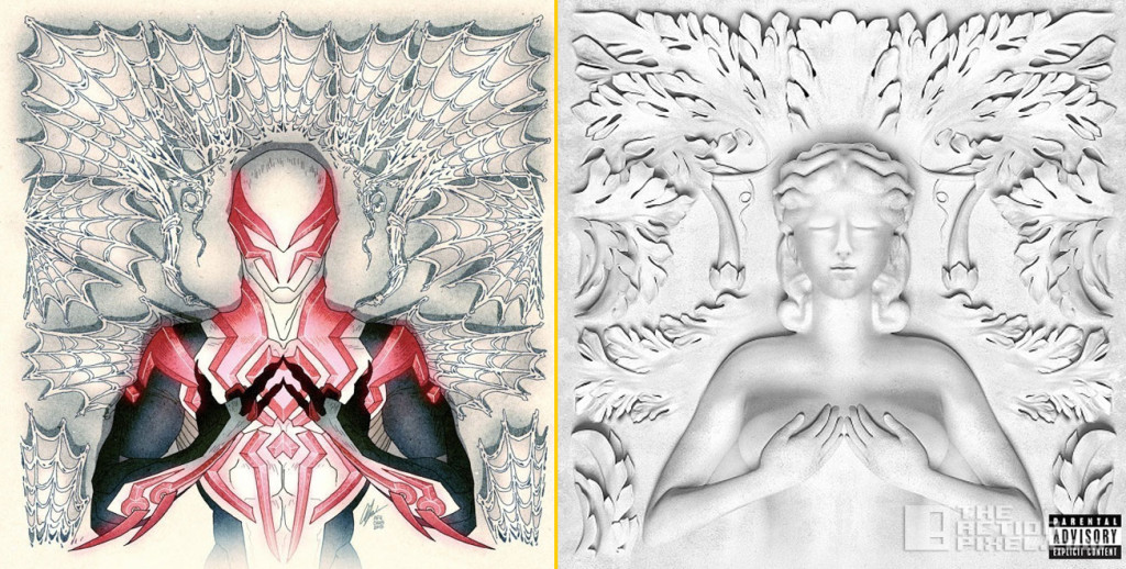 Spider-Man 2099 #1 by Afu Chan (based on the GOOD Music compilation Cruel Summer) the action pixel. @theactionpixel