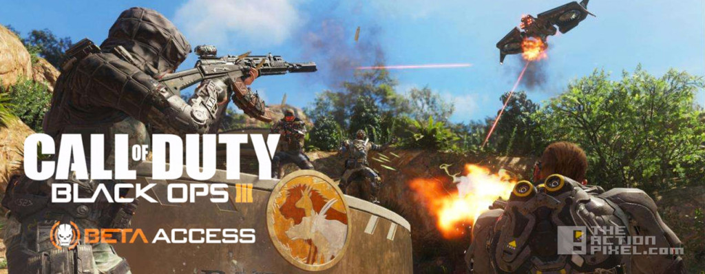 call of duty: black ops 3. beta access. treyarch. the action pixel. @theactionpixel