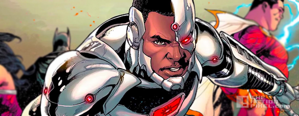 cyborg. Dc comics. the action pixel. @theactionpixel