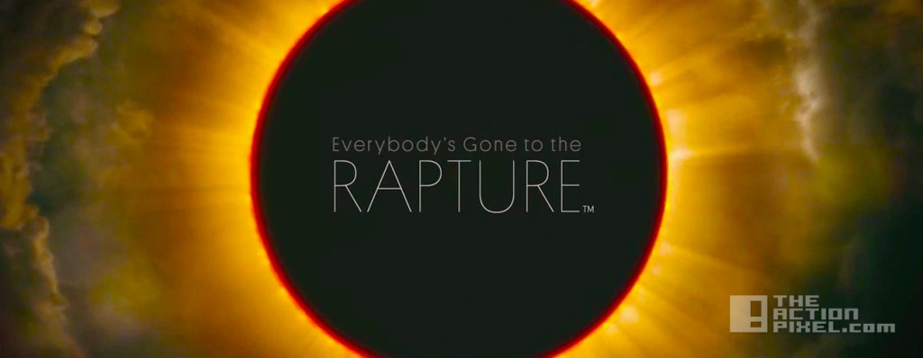 Everbody's gone to the Rapture. the chinese room. ps4. the action pixel. @theactionpixel