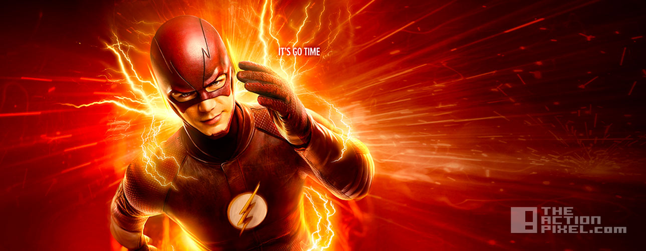 """The flash """"It's go time"""" poster. entertainment on tap. the action pixel. @theactionpixel"""