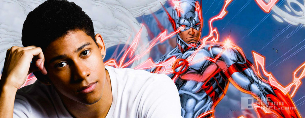 kieynan lonsdale. wally west. the action pixel. @theactionpixel. the cw. the flash.