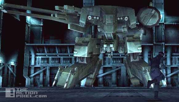 metal gear solid rex. the action pixel. kojima. konami. @theactionpixel