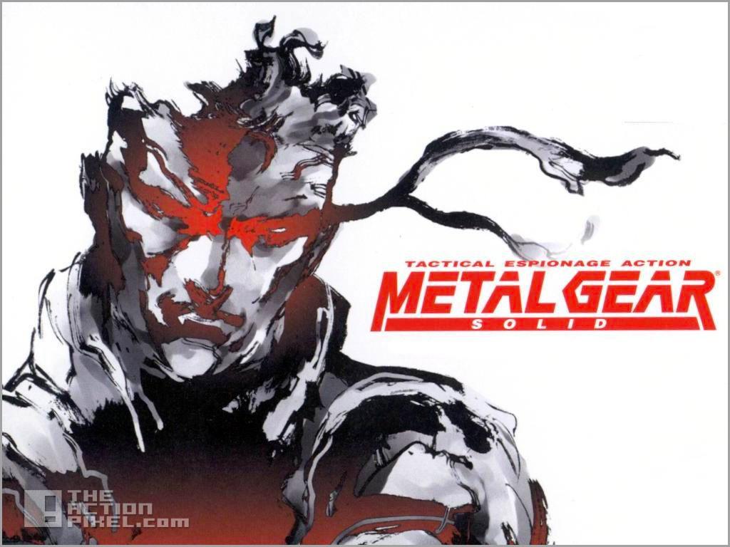 metal gear solid. the action pixel. @theactionpixel