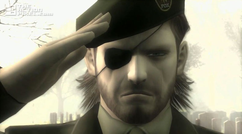 snake salute boss. Metal Gear Solid. the action pixel. @theactionpixel