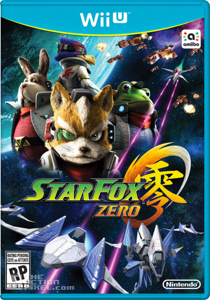 star fox zero. wii U. the action pixel. @theactionpixel