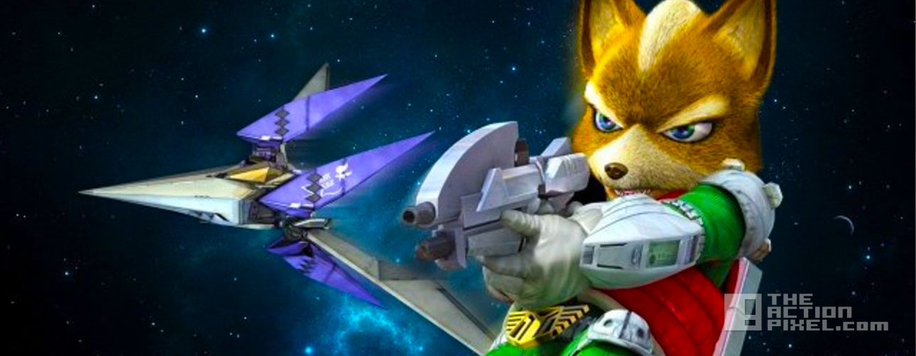 star fox zero. wii U. the action pixel. @theactionpixel. nintendo