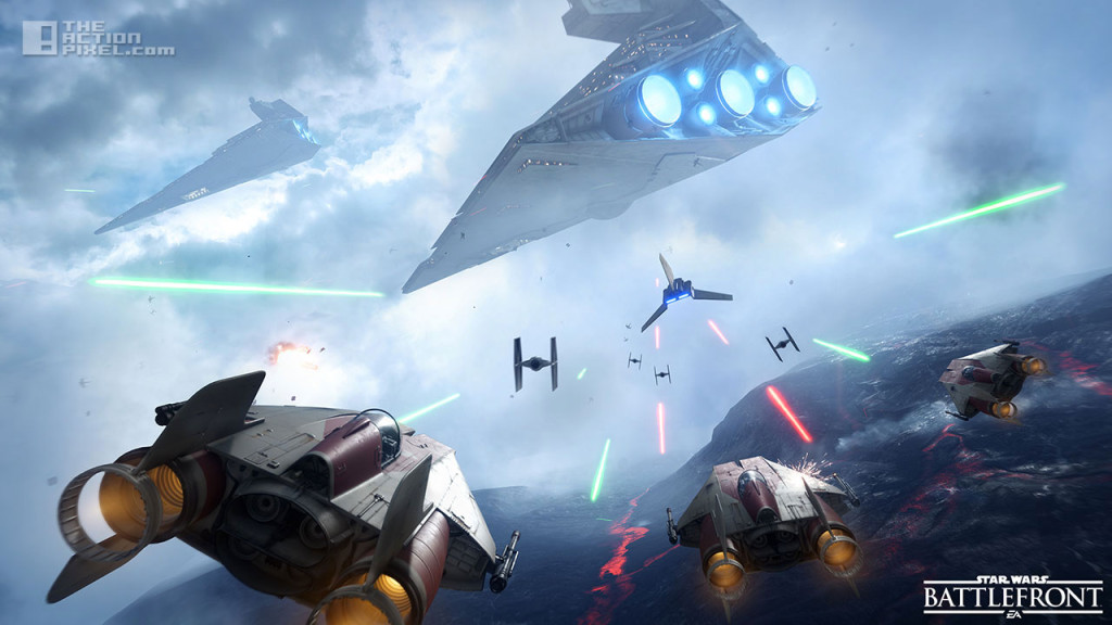 star wars Battlefront. entertainment on tap. @theactionpixel. the action pixel