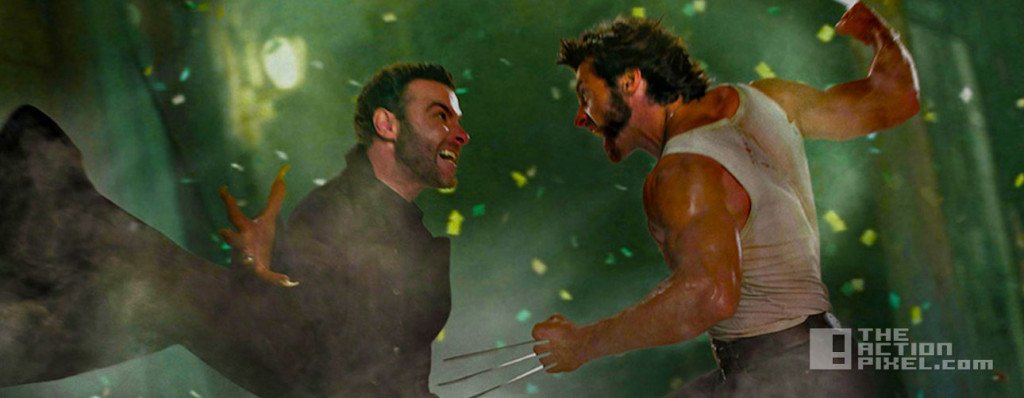 wolverine sabertooth hugh jackman and liev schreiber. 20th century fox. marvel. entertaiment on tap. the action pixel. @theactionpixel