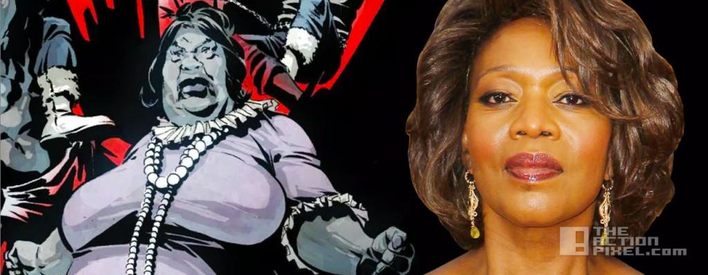 alfre woodward black mariah. marvel. the action pixel. @theactionpixel.