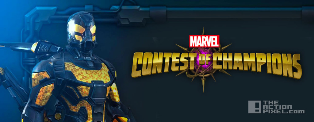 yellowjacket. marvel. Contest Of Champions. the action pixel. @theactionpixel
