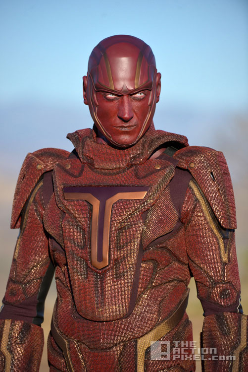 supergirl. dc comics. cbs. the action pixel. @theactionpixel. red tornado