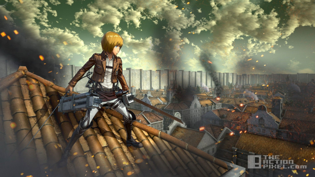 attack on titan PS4. the action pixel. Koei Tecmo Games. @theactionpixel