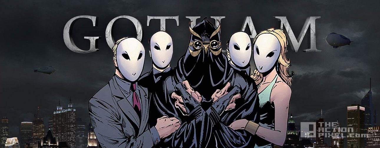 court of owls. gotham. the action pixel. @theactionpixel. fox. dc comics