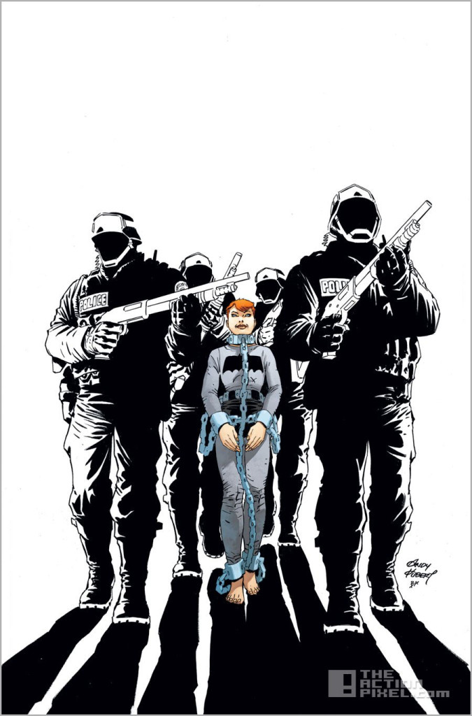 dark knight 3: the master race #2 cover. dc comics. the action pixel. @theactionpixel