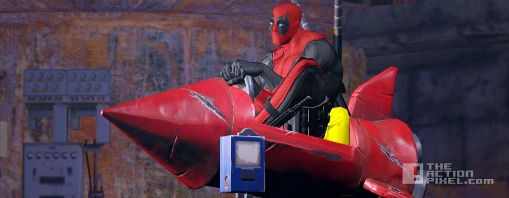 deadpool video game. activision. the action pixel. @theactionpixel. marvel