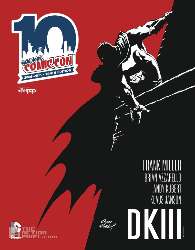 dark knight 3. the master race. dc comics. the action pixel. @theactionpixel