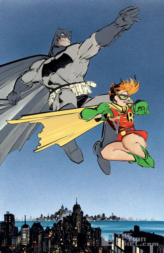 dark knight rises panel. the action pixel. dc comics. @theactionpixel. frank miller
