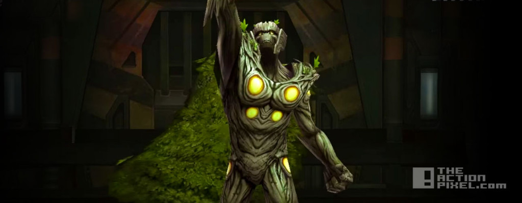 groot thor. marvel future fight. netmarble. the action pixel. @theactionpixel