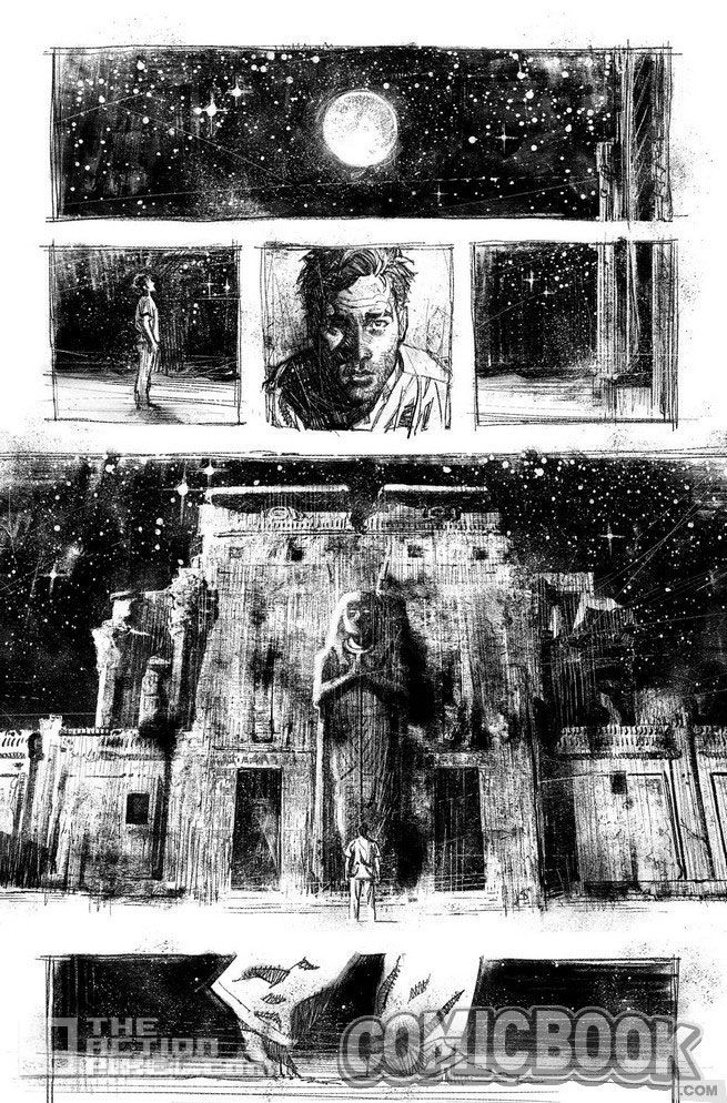 moon knight page 1. the action pixel. @theactionpixel. Marvel.