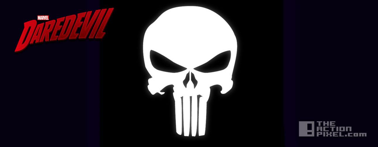 punisher skull daredevil. marvel. netflix. the action pixel. @theactionpixel