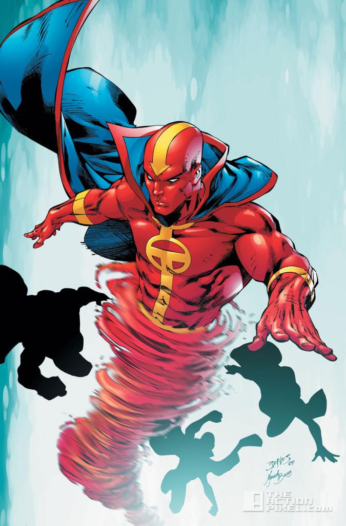 red tornado. dc comics. the action pixel. @theactionpixel