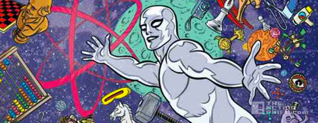 silver surfer #1 cover. @theactionpixel the action pixel. #Entertainmentontap. marvel