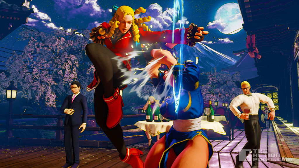 STREET FIGHTER V. KARIN. CAPCOM. THE ACTION PIXEL. @THEACTIONPIXEL
