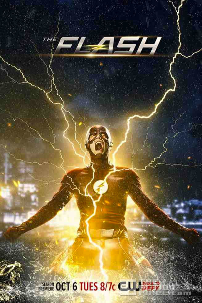 garry gustin. the flash season 2. promo poster. dc comics. the cw. the action pixel. @theactionpixel