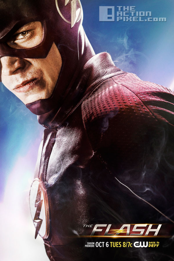 the flash poster. the action pixel. the cw network. dc comics. @theactionpixel