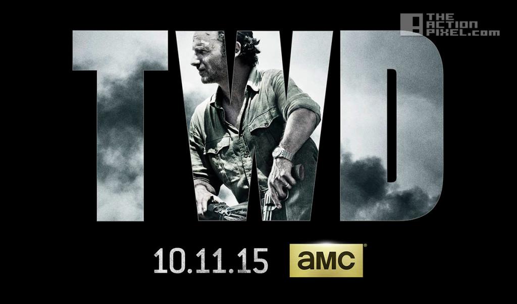 the walking dead season 6 poster. image comics. skybound. the action pixel. @theactionpixel. amc