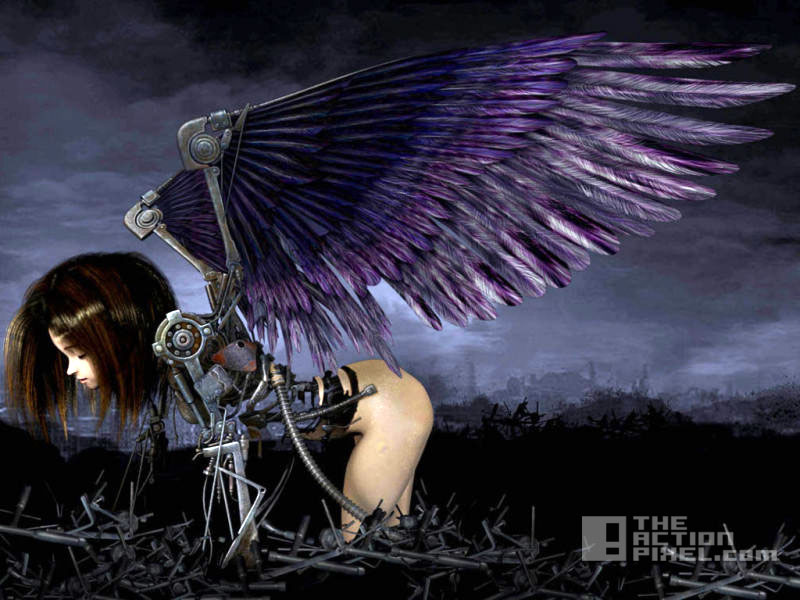 BATTLE ANGEL ALITA. Yukito Kishiro. THE ACTION PIXEL. @THEACTIONPIXEL