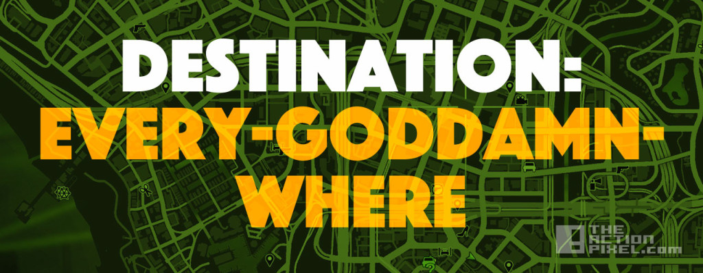 DESTINATION GAMEMAP. THE ACTION PIXEL. @THEACTIONPIXEL