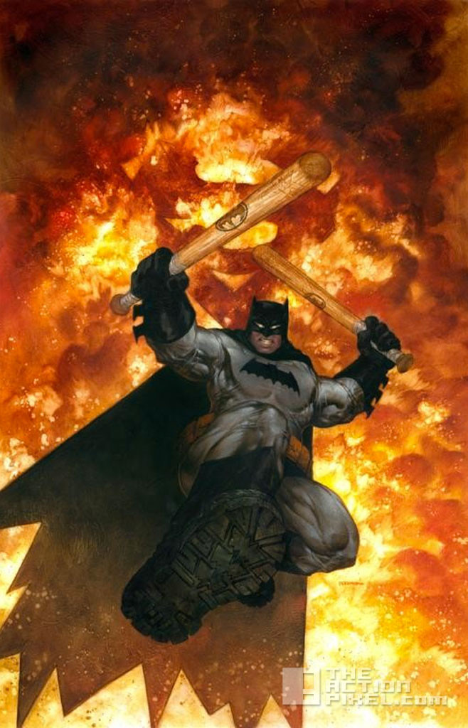 dark knight III: the master race. frank miller. dc comics. the action pixel. @theactionpixel