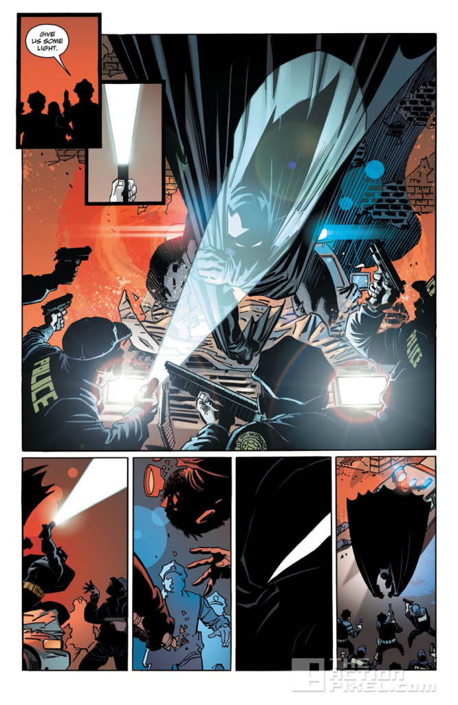 dark knight III: the master race. frank miller. dc comics. the action pixel. @theactionpixel