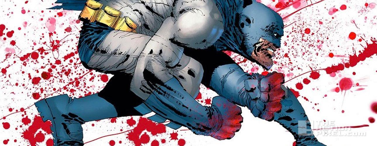 dark knight 3: frank miller. dc comics. the action pixel. @theactionpixel