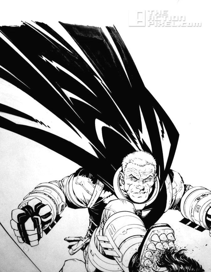 dark knight 3: the master race. dc comics. greg capullo. @theactionpixel. the action pixel