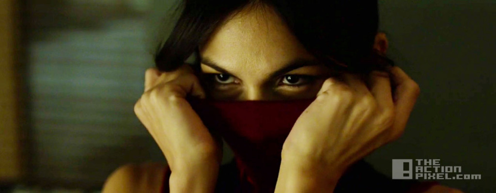 elektra. daredevil season 2. marvel. netflix. the action pixel. @theactionpixel