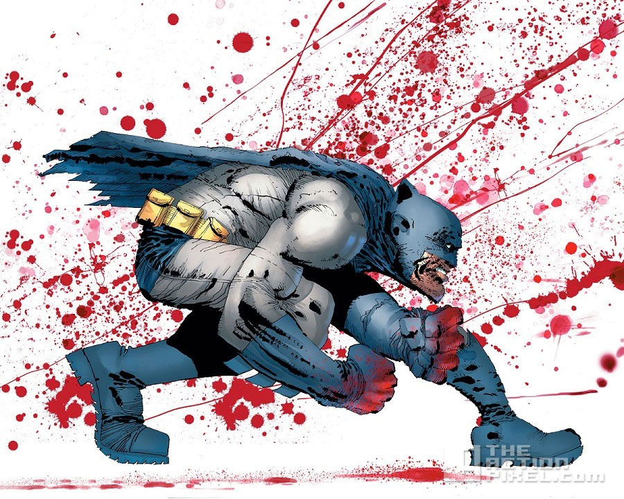 dark knight 3: frank miller. dc comics. the action pixel. @theactionpixel