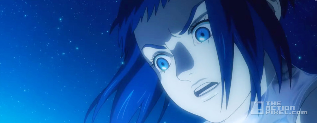 ghost in the shell: the new movie. i.g. production. kodansha. the action pixel. @theactionpixel